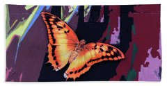 Flight Into Eternity Beach Towel
