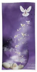 Flight To Freedom Beach Towel