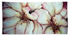 Flighty Floral Beach Towel