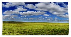 Flint Hills Panorama 1 Beach Towel