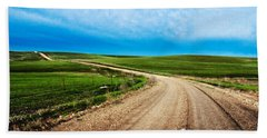 Flint Hills Spring Gravel Beach Towel