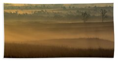 Flint Hills Sunrise Beach Towel