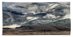 Flint Ridge Range, Deer Lodge, Mt Beach Towel