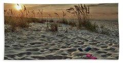 Flipflops On The Beach Beach Towel