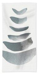 Floating 1- Zen Art By Linda Woods Beach Towel by Linda Woods