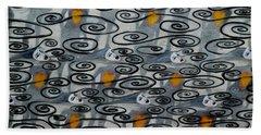 Floating Hearts Fifteen Beach Towel