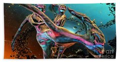 Floating In The Universe Beach Towel by Ian Gledhill