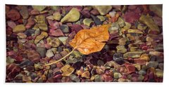 Floating Leaf Beach Towel