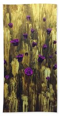 Floating Royal Roses 1 Beach Towel