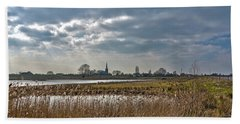 Floodplains Near Culemborg Beach Towel