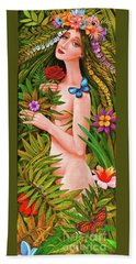 Flora Beach Towel