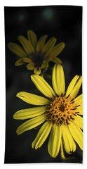 Flora In Yellow Beach Sheet