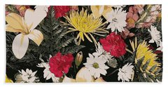 Floral 2 Beach Towel