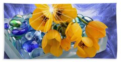 Floral 6 Beach Towel