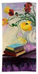 Floral Abstract Beach Sheet