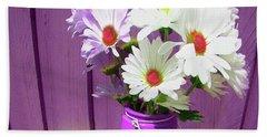 Floral Art 335 Beach Sheet