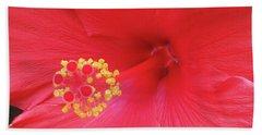 Floral Beauty 2 Beach Sheet