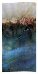 Floral Chiffon Beach Sheet by Michele Carter