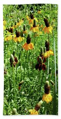 Beach Towel featuring the photograph Floral by Cynthia Powell