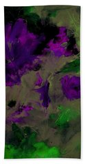 Floral Dance By Lisa Kaiser Beach Towel
