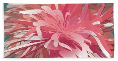 Floral Profusion Beach Towel