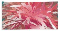 Floral Profusion Beach Sheet