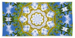 Floral Sun Beach Towel