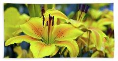 Floral Sunshine Beach Sheet