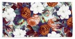 Floral Wonder Beach Sheet