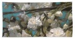 Floral01 Beach Sheet