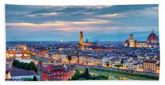 Beach Towel featuring the photograph Florence by Fabrizio Troiani