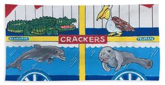 Florida Animal Crackers Beach Towel