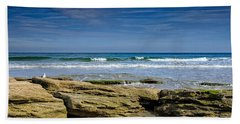 December Morning Beach Towel