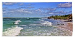Florida Gulf Coast Beaches Beach Sheet by HH Photography of Florida