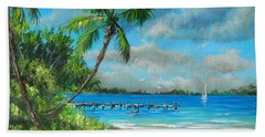 Florida Landscape Beach Towel