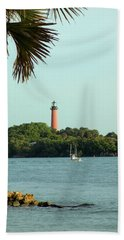 Florida Lighthouse 3 Beach Towel