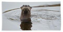 Florida Otter Beach Towel