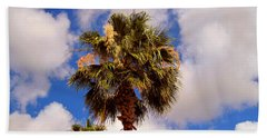 Florida Palm   5 Beach Towel