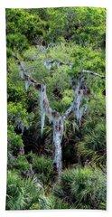 Florida Spanish Moss Beach Sheet