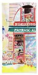 Florist In Ile St.louis Beach Towel