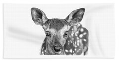 Florry The Fawn Beach Towel