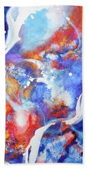 Flow Beach Towel by Betty M M Wong
