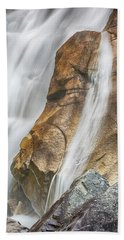Beach Towel featuring the photograph Flow by Stephen Stookey