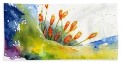 Flower 1 Beach Sheet