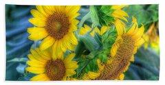 Flower #40 Beach Sheet