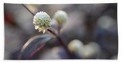 Flower Bokeh Beach Sheet
