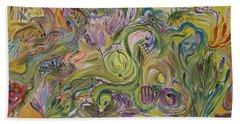 Flower Composition Beach Sheet by Rita Fetisov