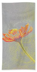 Flower Drawing Beach Towel