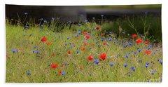 Flower Duet Beach Sheet