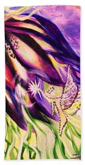 Flower Faerie Beach Towel